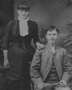 Mary Ellen Riggs Morris and her husband, Porter Morris.