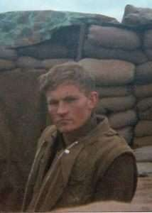 Ken Rodgers at Khe Sanh, courtesy of the Estate of Dan Horton